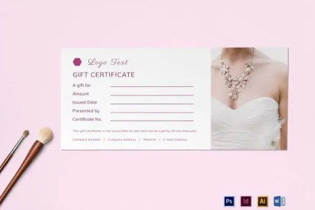 30  Blank Gift Certificate Templates   DOC  PDF   Free   Premium     Blank Gift Certificate Design Template