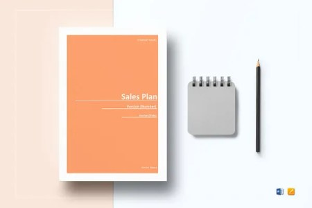 15  Budget Plan Templates   Free Sample  Example  Format Download     Sample Sales Plan Template
