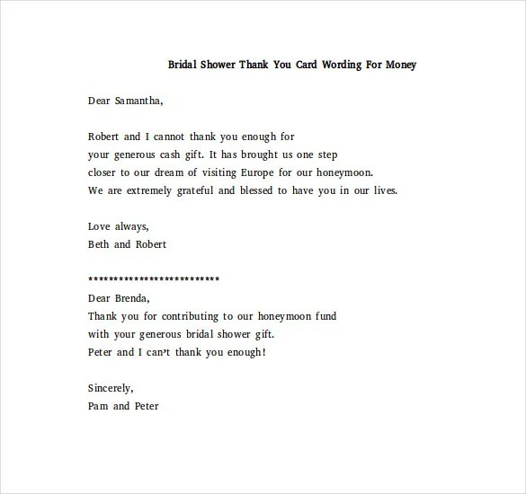Business Thank You Cards Examples