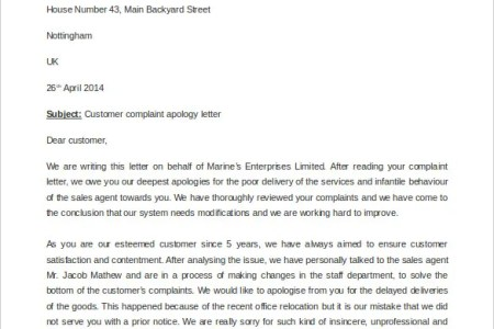 Customer service apology letter free professional resume free business apology letter templates at allbusinesstemplates com business apology letter apology letter for poor customer service unique best s of pany spiritdancerdesigns Images
