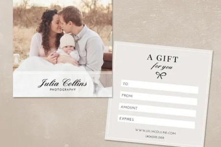 Photography Gift Certificate Templates     17  Free Word  PDF  PSD     Photography Gift Certificate Template PSD Download