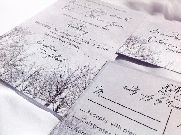 Example Wedding Invitation Card