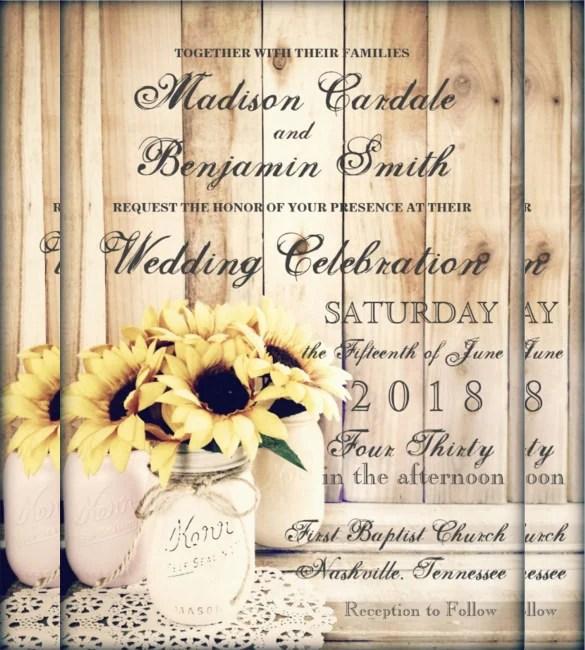 Fall Save Date Invitations