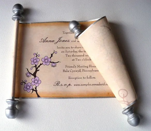 Unique Rustic Wedding Invitations