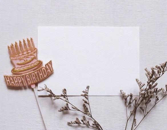 27 Blank Birthday Templates Free Sample Example