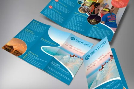 45  Travel Brochure Templates   PSD  AI   Free   Premium Templates Travel Brochure template For Student Tours