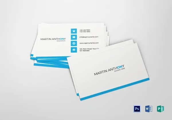 images for business card ai template