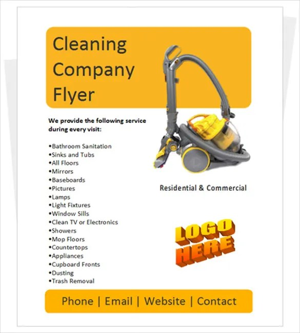 Commercial Cleaning Brochure Templates - Commercial cleaning brochure templates