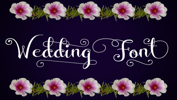 free wedding fonts # 68