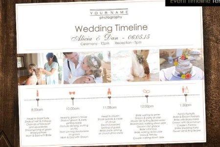 Wedding Timeline Template   42  Free Word  Excel  PDF  PSD  Vector     Wedding Photography Timeline Template For Download