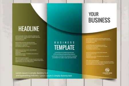 Free Brochure Templates   60  Free PSD  AI  Vector EPS Format     Tri fold Business Brochure Template Free Vector Download