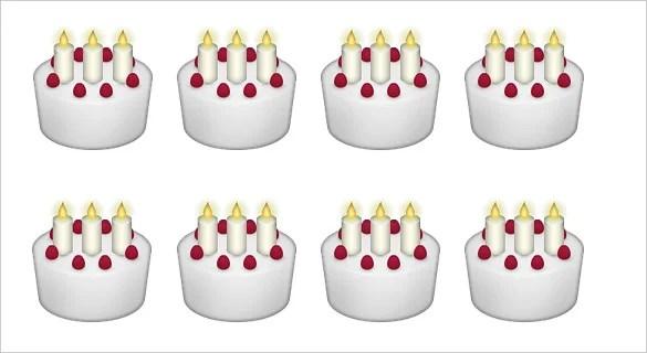 Emoji Birthday Iphone We Cake