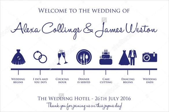 Wedding Day Schedule Template Excel - Wedding timeline template excel