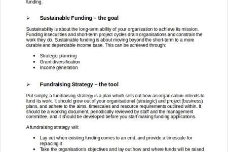 Free Templates 2018 » charity marketing strategy template   Free ...