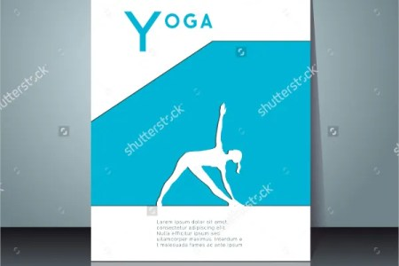 18  Yoga Flyer Designs   Templates   PSD  AI  Vector EPS   Free     Professional Yoga Flyer Template