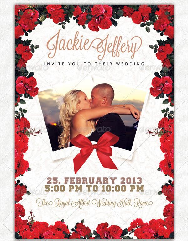 Save Your Date Wedding Invitation