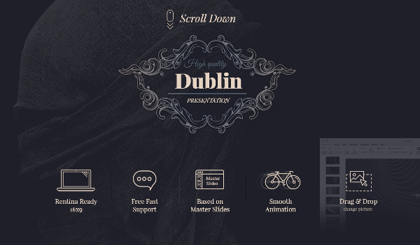 16  Powerpoint Templates   Free Powerpoint PPT  PPTX Format Download     Dublin Powerpoint Template