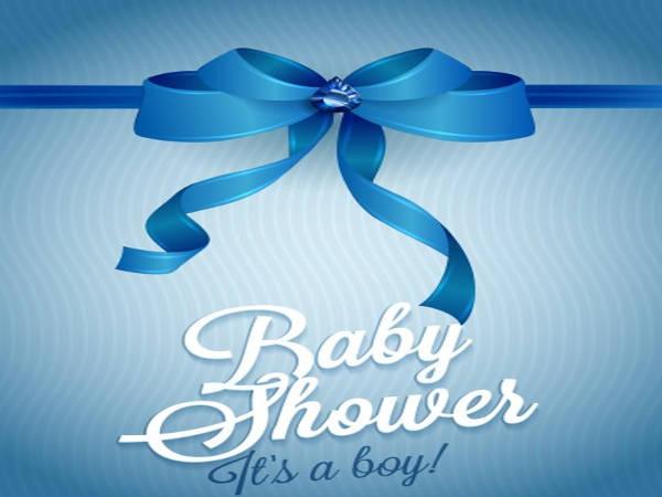 Baby Shower Templates Boy