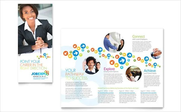 Job Fair Brochure 8 Free Psd Vector Ai Eps Format