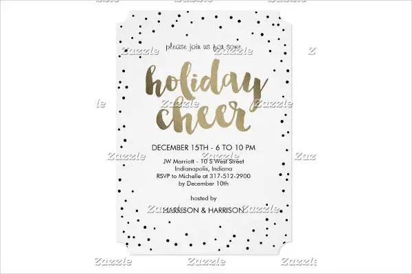 11 Business Lunch Invitation Template Jpg Vector Eps