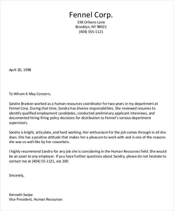 Personal Letter Format Purdue Owl