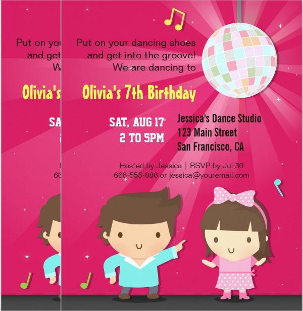 Children Invitation Card