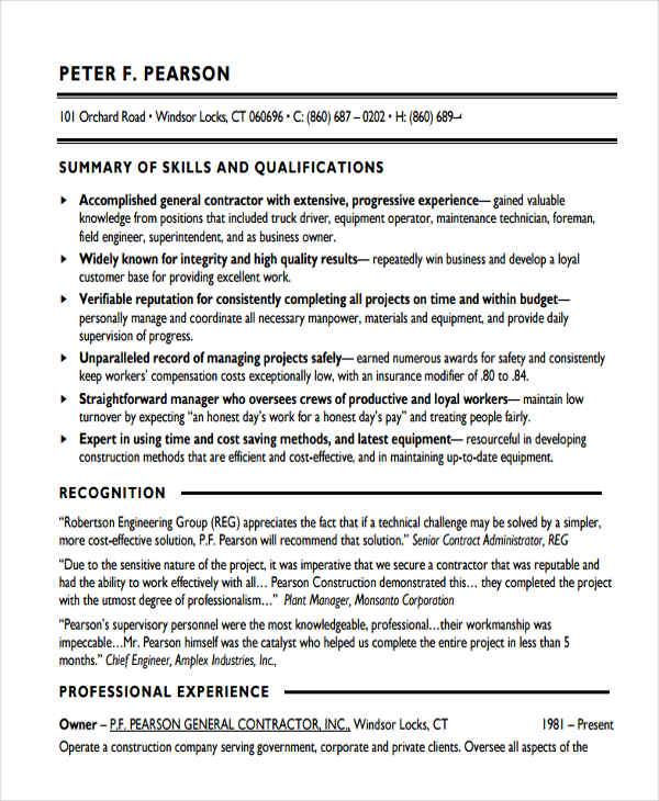27 Basic Work Resume Templates Free Amp Premium Templates