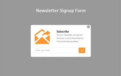 18+ Sign Up Form Templates - Register, Profile, Newsletter ...