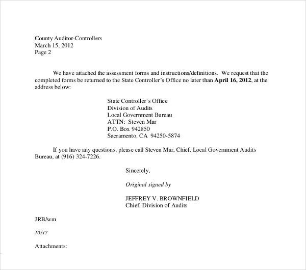 Sample Letter Cancellation Reservation