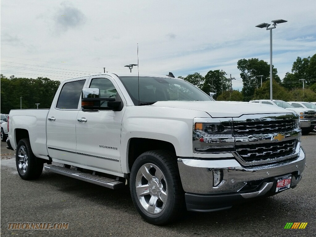 2017 Chevrolet Silverado 1500 Ltz Crew Cab 4x4 In Summit