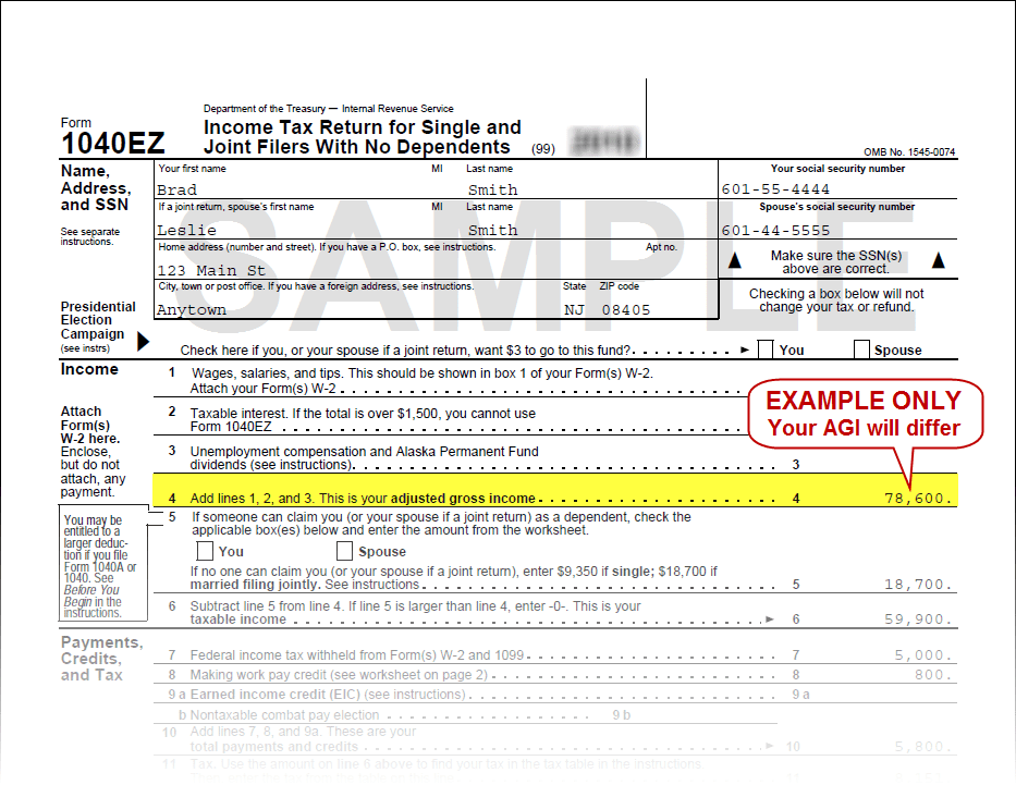 Irs 1040 Tax Form Printable