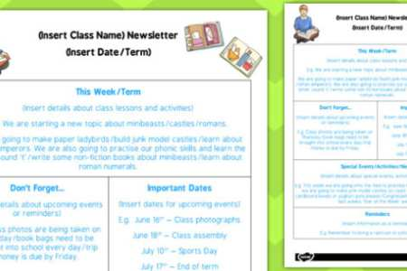 primary school newsletter templates 4k pictures 4k pictures