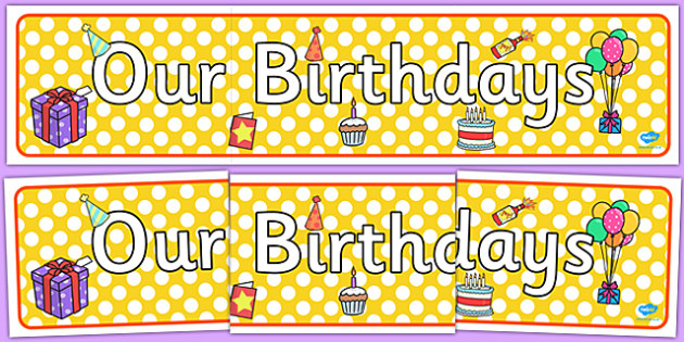 Editable Birthday Display Set Cakes Birthday Set Birthday