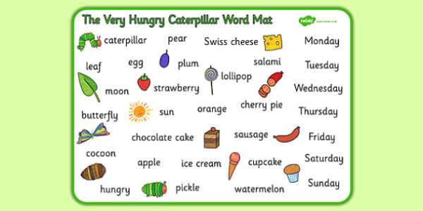 the very hungry caterpillar text # 26