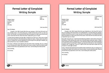 Letter of complaint full hd maps locations another world letter of complaint garbage best ideas of free esl plaint consumer complaint letter following are suggestions on how to write an effective letter of thecheapjerseys Choice Image