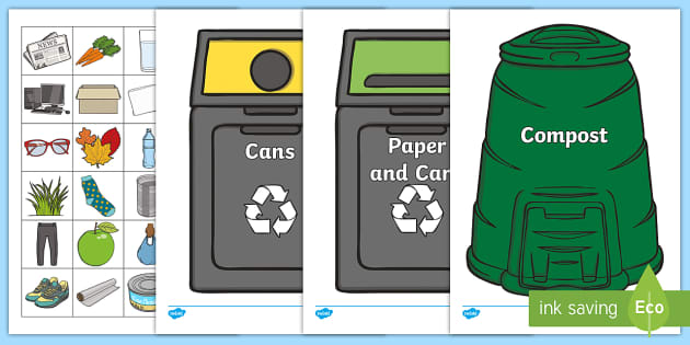 Recycling Esl Worksheets