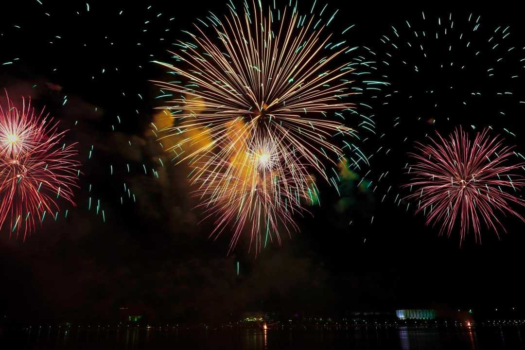 Hd Happy Fireworks Gif New Year