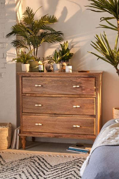 New in Home D    cor Sale   Urban Outfitters Boho 3 Drawer Dresser