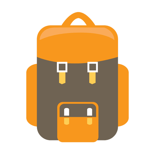 Backpack camping icon - Transparent PNG & SVG vector