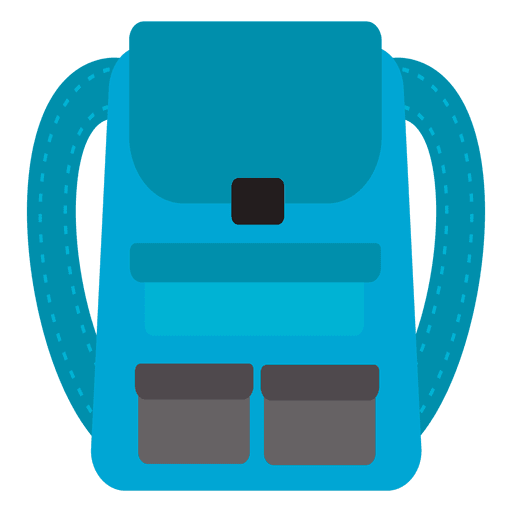 Backpack travel icon - Transparent PNG & SVG vector