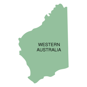 Western australia state map   Transparent PNG   SVG vector Western australia state map Transparent PNG