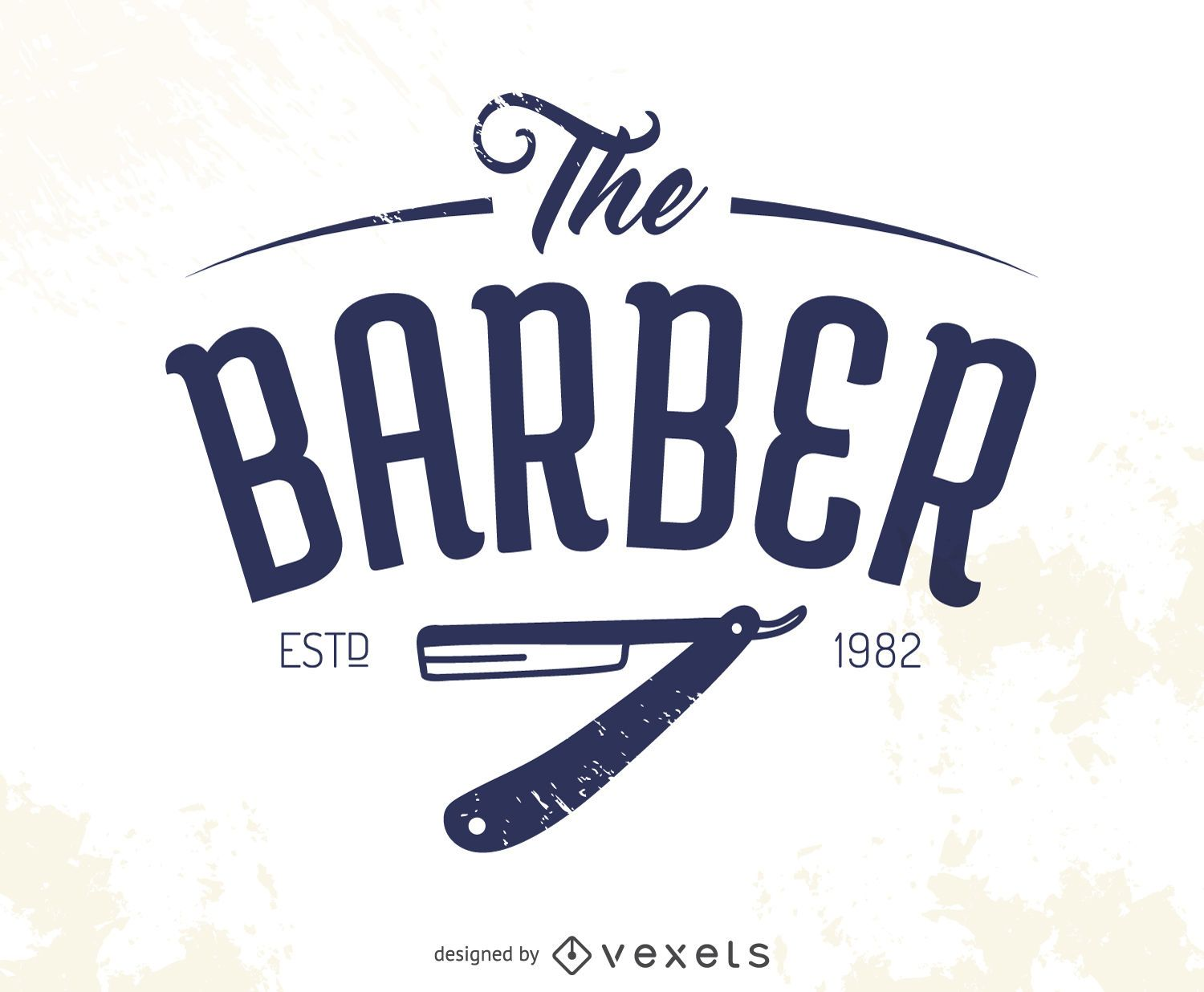 The barber logo - Vector download