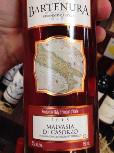 Bartenura Malvasia Di Casorzo 2013 Wine Info