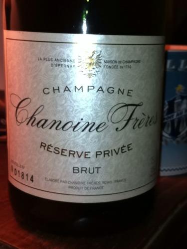 Chanoine Freres Champagne Reserve Priv 233 E Brut Wine Info