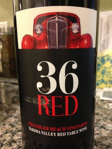 Chandler Reach Yakima Valley 36 Red Wine Info