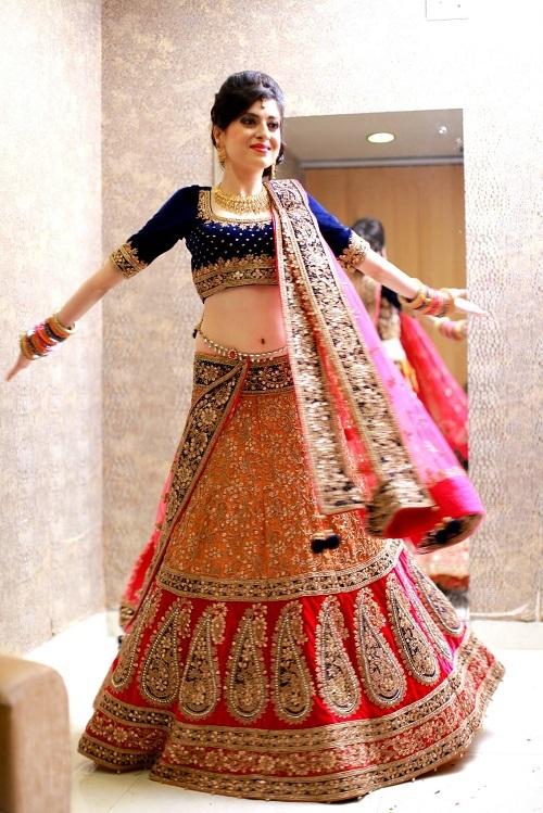 Bridal Lehenga Shopping In Chandni Chowk Bride Urvashi Recounts Wedmegood