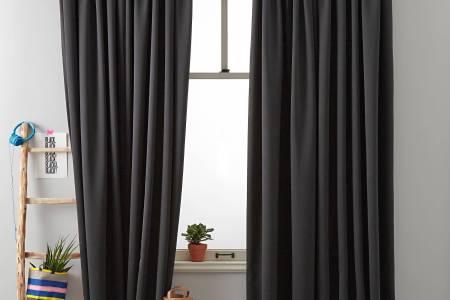 Beste Wanddecoratie » goedkope verduisterende gordijnen kant en ...