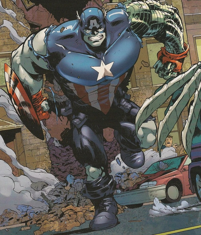 Image - Hulked-Out Captain America (Bucky).jpg - Spider ...