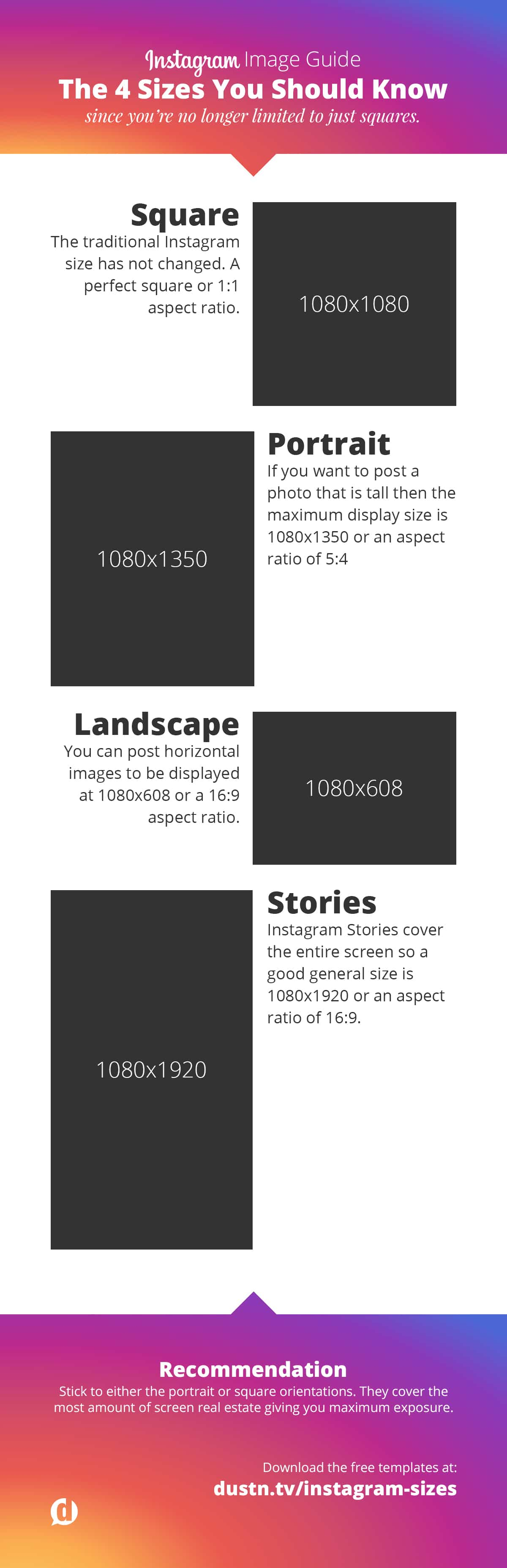 Instagram Photo and Video Size Guide for 2019