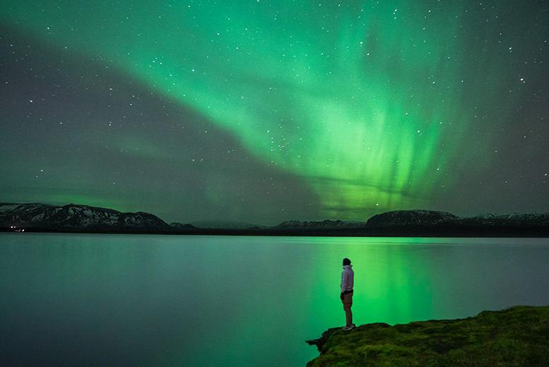 Blue Lagoon Northern Lights